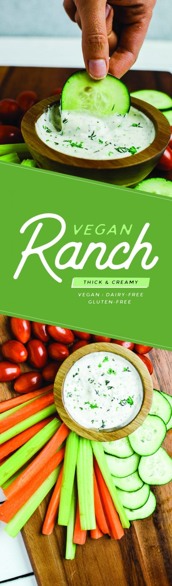 5-minute Thick and Creamy Vegan Ranch