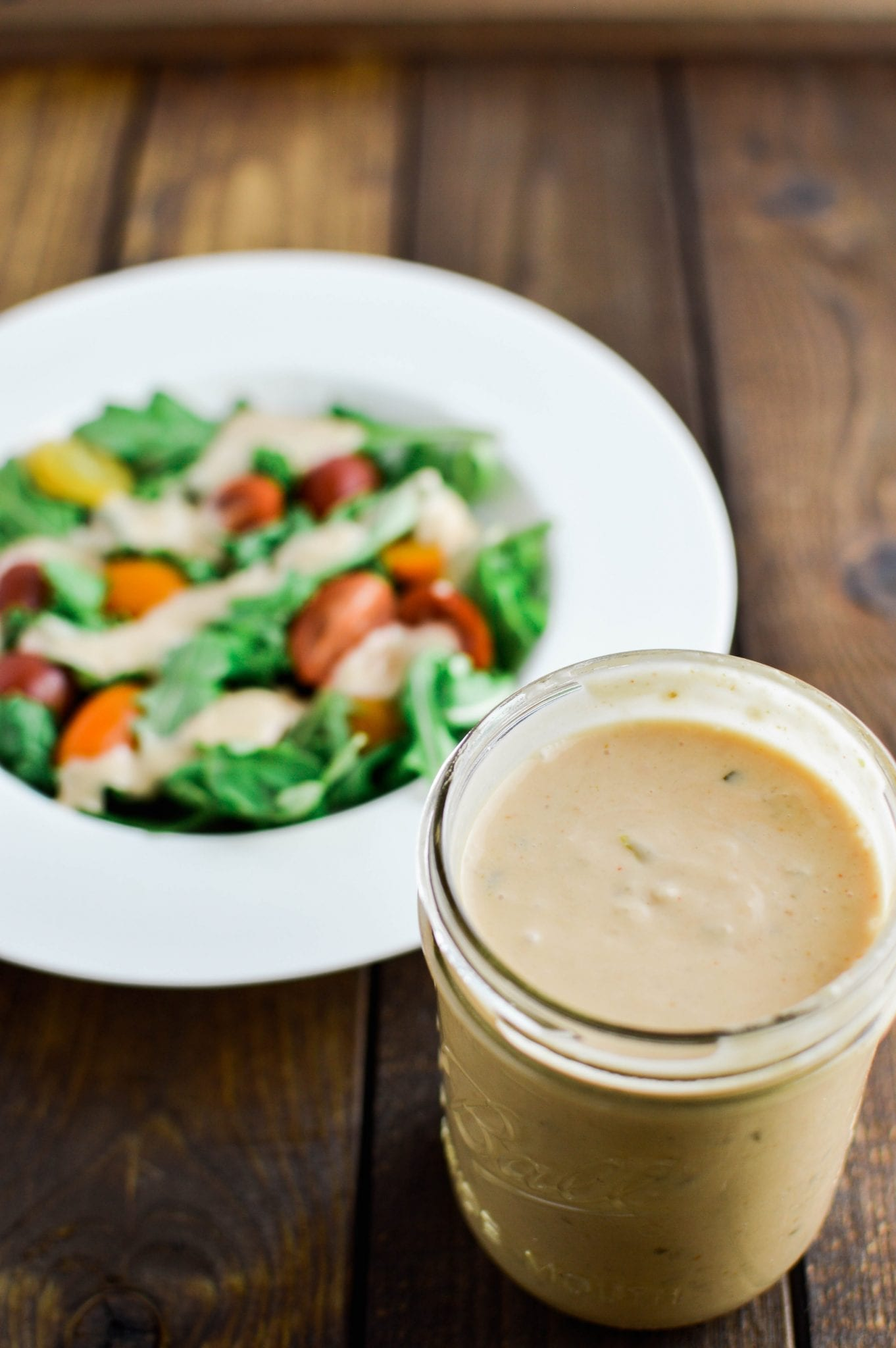 5-minute Vegan Thousand Island Dressing