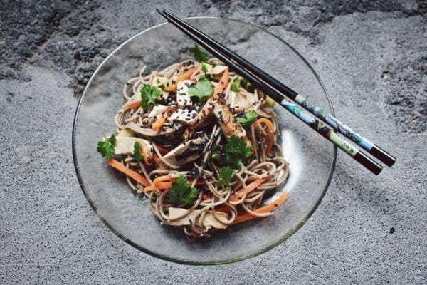tofu estrogen myth - tofu bowl
