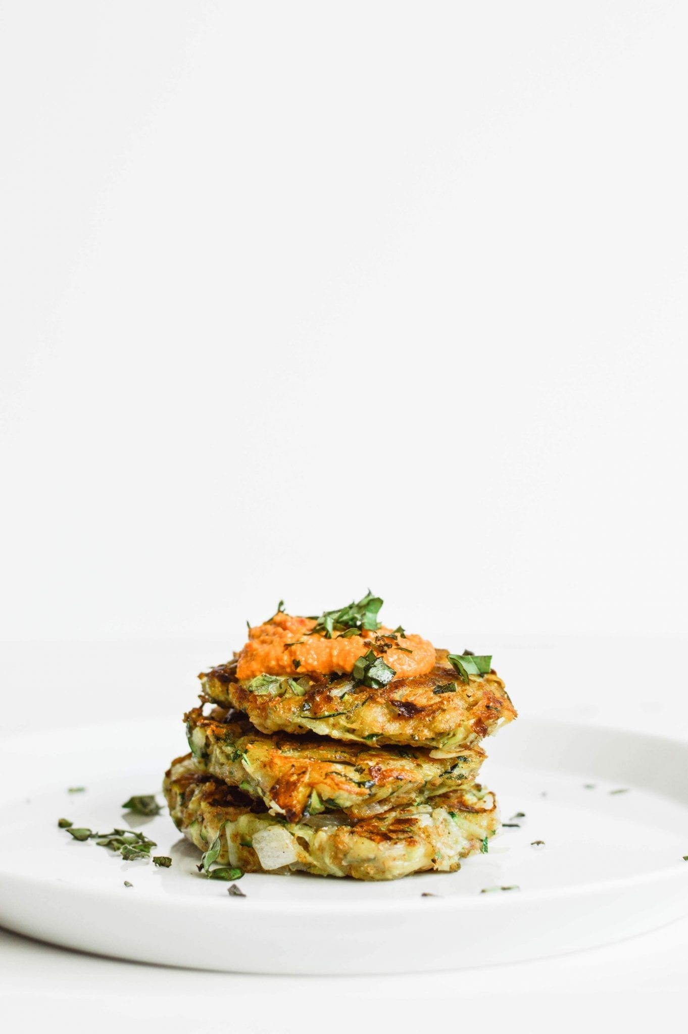25-minute Healthy Zucchini Potato Fritters   Vegan   Gluten-Free   Soy-Free