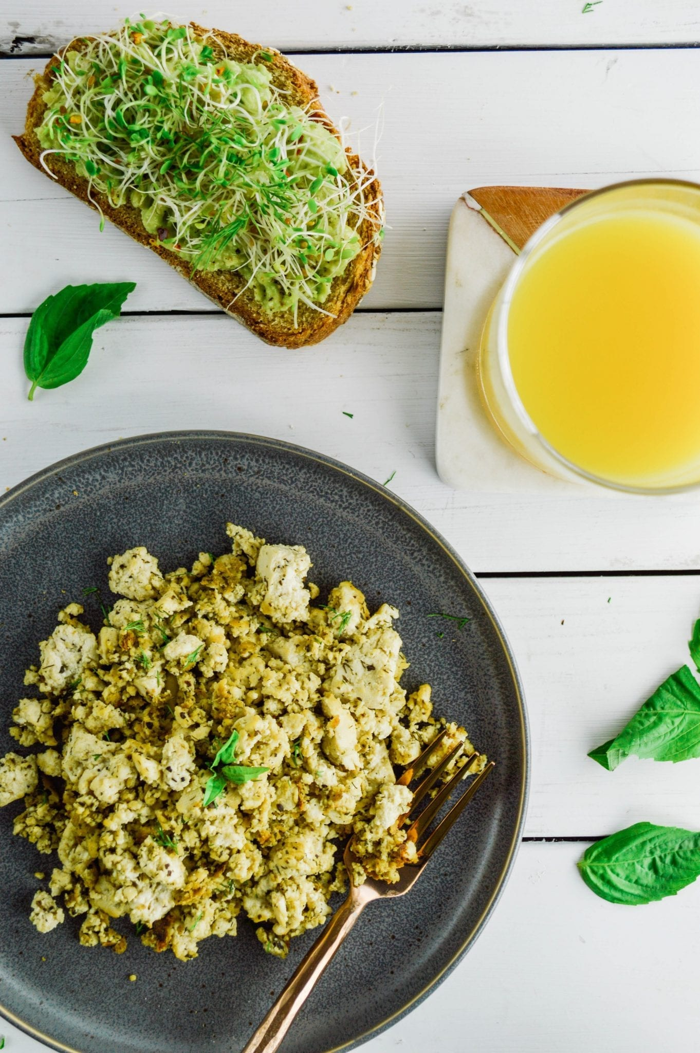 Perfectly Seasoned Tofu Scramble | Plant Based Scotty