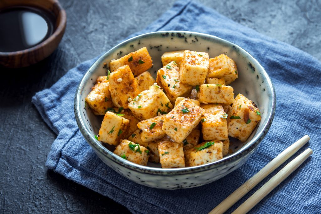 A bowl of tofu | Is Tofu Healthy? 21 Benefits and Disadvantages