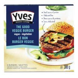 Yves Veggie Cuisine The Good Veggie Burger | The Best Vitamin B12 Foods for Vegetarians and Vegans