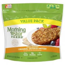 Morningstar Farms Original Sausage Patties | The Best Vitamin B12 Foods for Vegetarians and Vegans